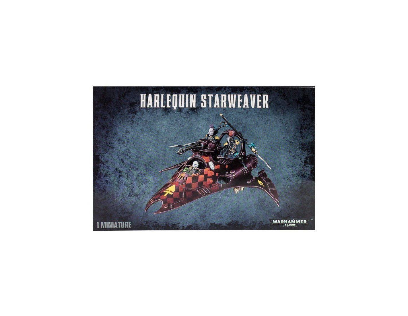 Games Workshop Warhammer 58-12 HARLEQUIN STARWEAVER Personaggi Modellino