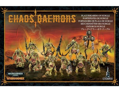 Games Workshop Warhammer 97-10 UNTORI DI NURGLE Personaggi