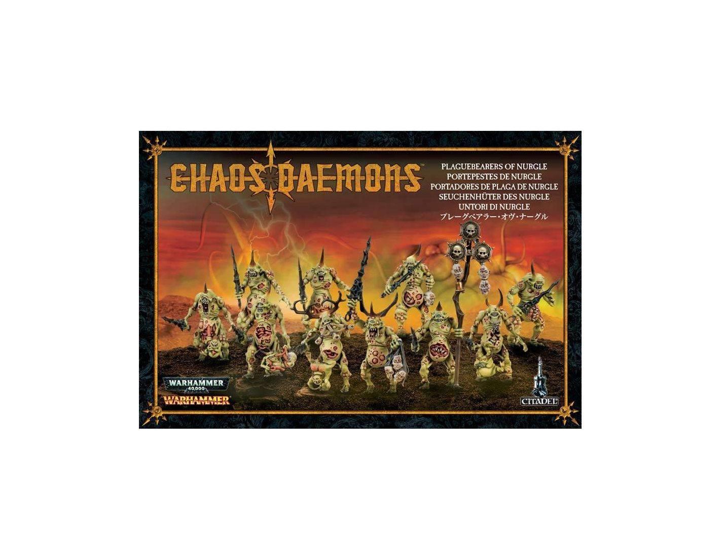 Games Workshop Warhammer 97-10 UNTORI DI NURGLE Personaggi