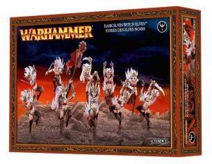 Games Workshop Warhammer 85-10 DARK ELVES WITCH ELVES Personaggi