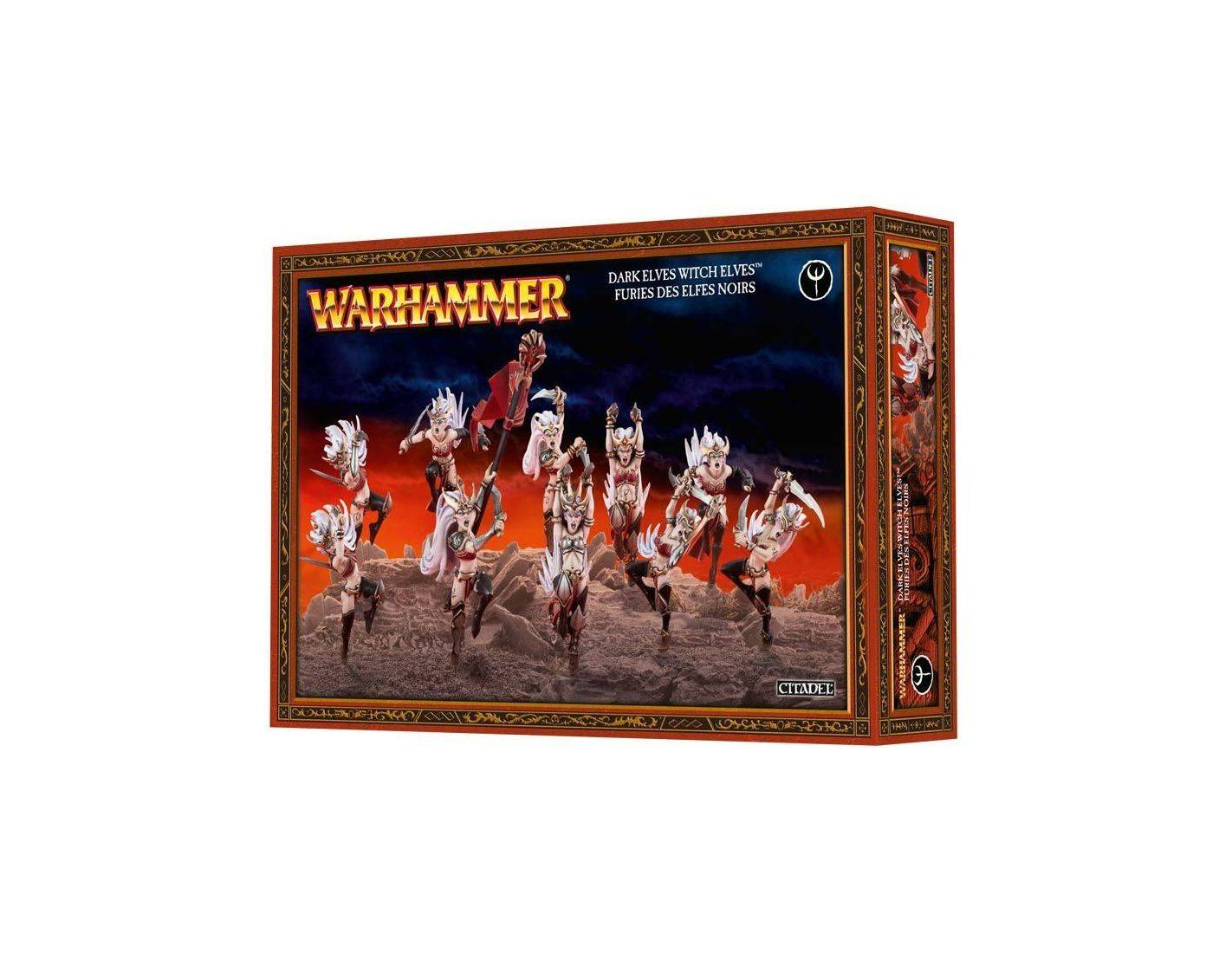 Games Workshop Warhammer 85-10  DARK ELVES WITCH ELVES Personaggi