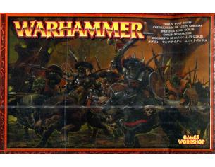 Games Workshop Warhammer 89-11 GOBLIN WOLF RIDERS Personaggi