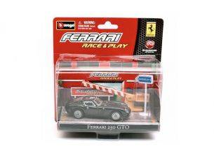 Bburago BU31100250GTOBL FERRARI 250 GTO BLACK IN BLISTER CON ACCESSORI 1:43 Modellino