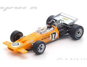 Spark Model S4844 MC LAREN M14A D.GURNEY 1970 N.17 6th FRENCH GP 1:43 Modellino