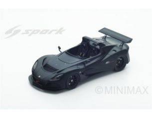 Spark Model S4897 LOTUS 3-ELEVEN ROAD 2017 BLACK 1:43 Modellino