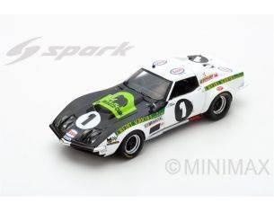 Spark Model S5073 CHEVROLET CORVETTE C3 N.1 ACCIDENT LM 1970 J.BOURDON-J.C.AUBRIET 1:43 Modellino