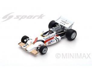 Spark Model S5273 BRM P160 PEDRO RODRIGUEZ 1971 N.15 5th MONACO GP  1:43 Modellino