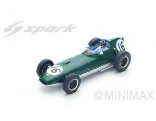 Spark Model S5340 LOTUS 16 GRAHAM HILL 1958 N.16 14th BRITISH GP 1:43 Modellino