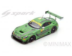 Spark Model SA114 MERCEDES AMG GT3 N.2 6th MACAU GT WORLD CUP 2016 R.VAN DER ZANDE 1:43 Modellino