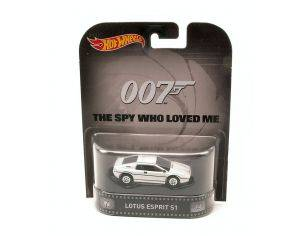 Hot Wheels HWCFR26 LOTUS ESPRIT S1 007 THE SPY WHO LOVED ME 1:64 Modellino