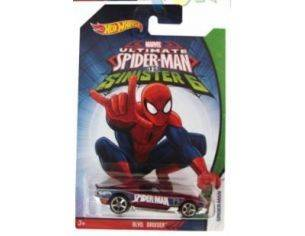 Hot Wheels HWCMJ79BL BLVD.BRUISER SPIDERMAN VS SINISTER 6 1:64 Modellino