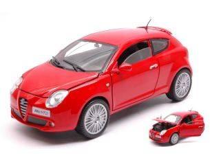 Motormax MTM73371R ALFA ROMEO MITO RED 1:24 Modellino