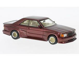 Neo Scale Models NEO46601 MERCEDES 500 SEC KOENIG SPECIALS RED 1:43 Modellino