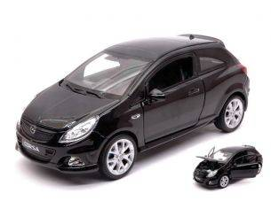 Welly WE22511BK OPEL CORSA OPC 2008 BLACK 1:24 Modellino