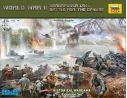 Zvezda 6177 WORLD WAR II BARBAROSSA 1941 BATTLE FOR THE DANUBE KIT Modellino