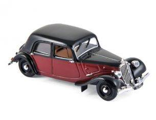 Norev NV153050 CITROEN 11 LEGERE COUPE DE VILLE 1935 DARK RED/BLACK 1:43 Modellino