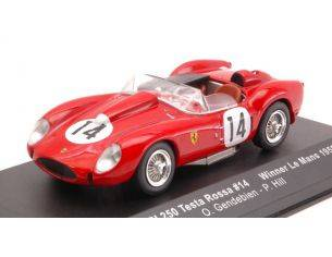 Ixo model LM1958 FERRARI 250 TR N.14 WINNER LM 1958 GENDEBIEN-HILL RE-EDITION 1:43 Modellino