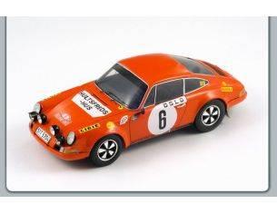 Spark Model S18029 PORSCHE 911 S N.6 WINNER M.CARLO 1970 VALDEGAARD-HELMER 1:18 Modellino