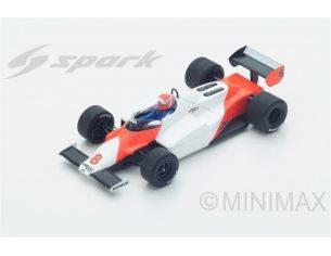 Spark Model S4842 MC LAREN MP4/1C NIKI LAUDA 1983 N.8 2nd LONG BEACH GP 1:43 Modellino