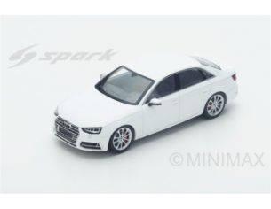 Spark Model S4887 AUDI S4 2016 WHITE 1:43 Modellino