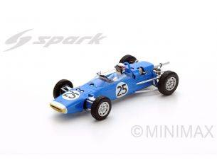 Spark Model S5412 MATRA MS1 N.25 TEST GOODWOOD 1966 JACKIE STEWART 1:43 Modellino