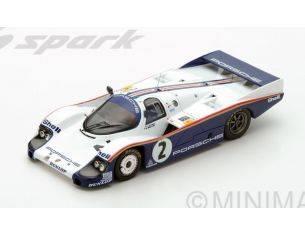 Spark Model S5504 PORSCHE 956 N.2 DNF LM 1983 J.MASS-S.BELLOF 1:43 Modellino
