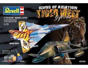 Revell 05709 TIGERMEET RF-4E PHANTOM &MIRAGE 2000C 1:72 KIT Modellino