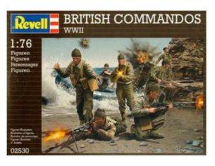 Revell 02530 BRITISH COMMANDOS WWII 1:76 KIT Modellino