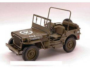 Welly WE4256 JEEP WILLYS 1/4 TON US ARMY TRUCK 1:18 Modellino