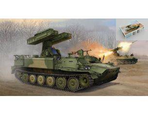 Trumpeter TP5554 SURFACE-TO-AIR MISSILE SYSTEM SA-13 GROPHER KIT 1:35 Modellino