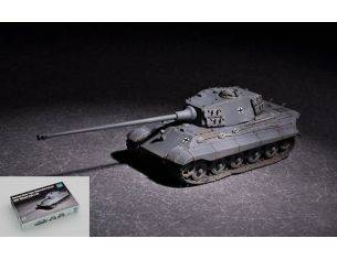 Trumpeter TP7160 GERMAN KING TIGER (HENSCHEL TURRET) WITH 105 mm KIT 1:72 Modellino