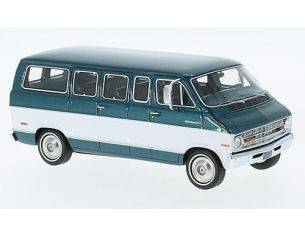 Neo Scale Models NEO46942 DODGE SPORTSMAN 1973 MET.GREEN/WHITE 1:43 Modellino