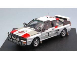 Trofeu TF1626 AUDI QUATTRO N.1 2nd RALLY BANDAMA 1983 MIKKOLA-HERTZ 1:43 Modellino