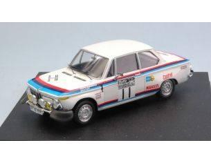 Trofeu TF1729 BMW 2002 TI N.11 15th RALLY RAC 1973 A.WARMBOLD-J.TODT 1:43 Modellino