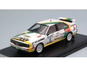Trofeu TFRFS21 AUDI QUATTRO N.6 WINNER BARUM TRIBEC RALLY 1986 PAVLIK-KAREL 1:43 Modellino