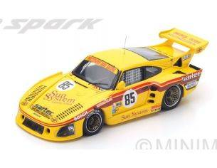 Spark Model S5500 PORSCHE 935 K3 N.85 DNF LM 1980 WHITTINGTON-WHITTINGTON-HAYWOOD 1:43 Modellino