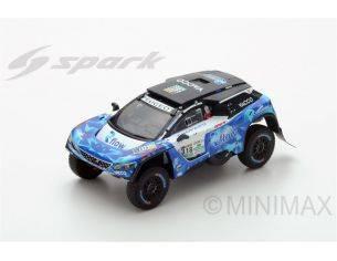 Spark Model S5614 PEUGEOT 3008 DKR N.318 8th DAKAR 2017 DUMAS-GUEHENNEC 1:43 Modellino