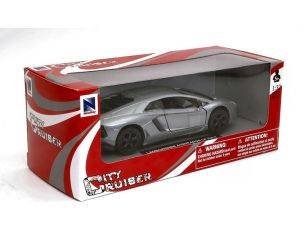 New Ray NY51493AS LAMBORGHINI AVENTADOR LP 700-4 SILVER 1:32 Modellino