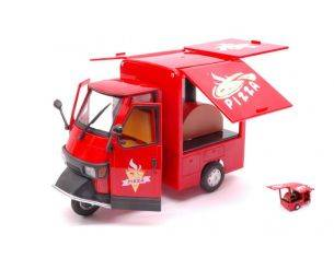 New Ray NY68043R APE PIAGGIO 50 STREET FOOD PIZZA 1:18 Modellino