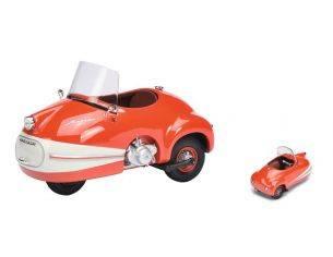 Schuco SH0073 BRUTSCH MOPETTA RED/WHITE 1:18 Modellino