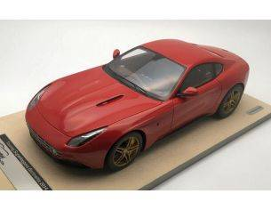 Tecnomodel TMD1818E TOURING SUPERLEGGERA ON FERRARI F12 2016 RED AND GOLD WHEELS LIM.60 1:18 Modellino