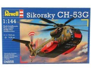 REVELL 04858 SIKORSKY CH-53G 1:144 KIT Modellino