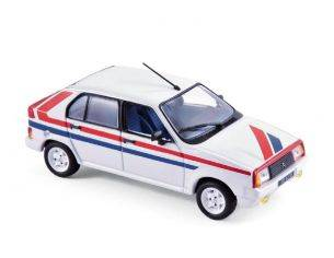 Norev NV150942 CITROEN VISA II CHRONO 1982 WHITE/RED/BLUE 1:43 Modellino
