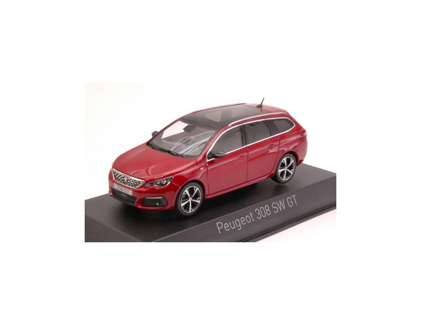 auto 1 43 norev nv473817 peugeot 308 sw gt 2017 ultimate red 1 43 modellino modellino shop. Black Bedroom Furniture Sets. Home Design Ideas