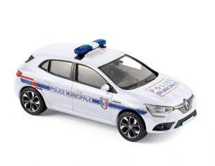Norev NV517722 RENAULT MEGANE 2016 POLICE MUNICIPALE 1:43 Modellino