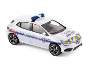 Norev NV517724 RENAULT MEGANE 2016 POLICE MUNICIPALE 1:43 Modellino