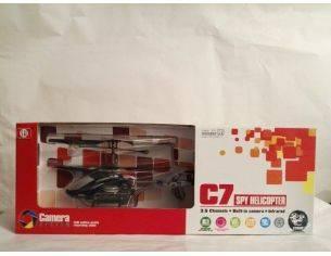 SH  ELICOTTERO C7 3.5 CANALI INFRAROSSI CON TELECAMERA RTF Radiocomando