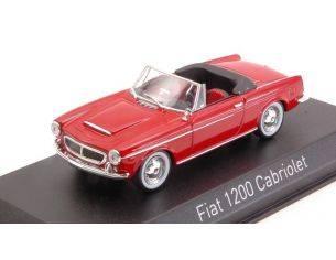 Norev NV770221 FIAT 1200 CABRIOLET 1959 RED 1:43 Modellino