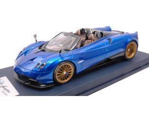 Looksmart LS18013A PAGANI HUAYRA ROADSTER BLUE FRANCIA PEARL C/VETRINA 1:18 Modellino