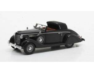 Matrix MX50206-061 BUICK SERIES 40 LANCEFIELD DROP HEAD 1938 BLACK 1:43 Modellino